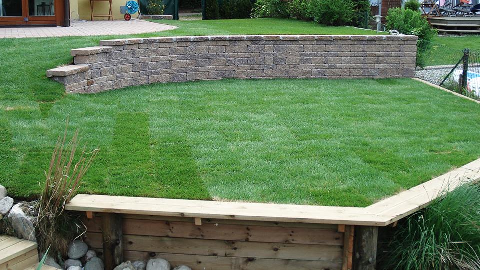 Gartengestaltung Beispiel
