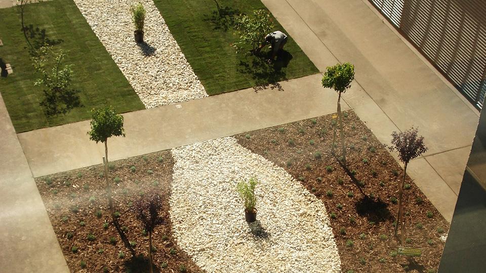 Landschaftsbau Beispiel